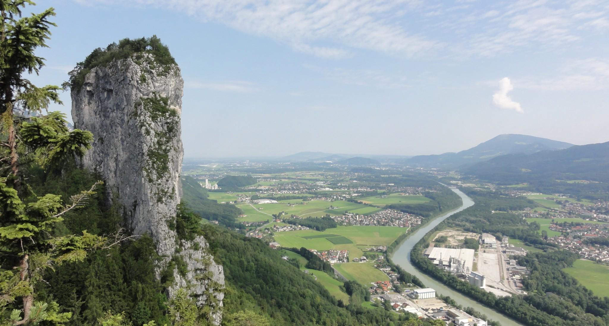 Arnoweg: Großer Barmstein bei Hallein