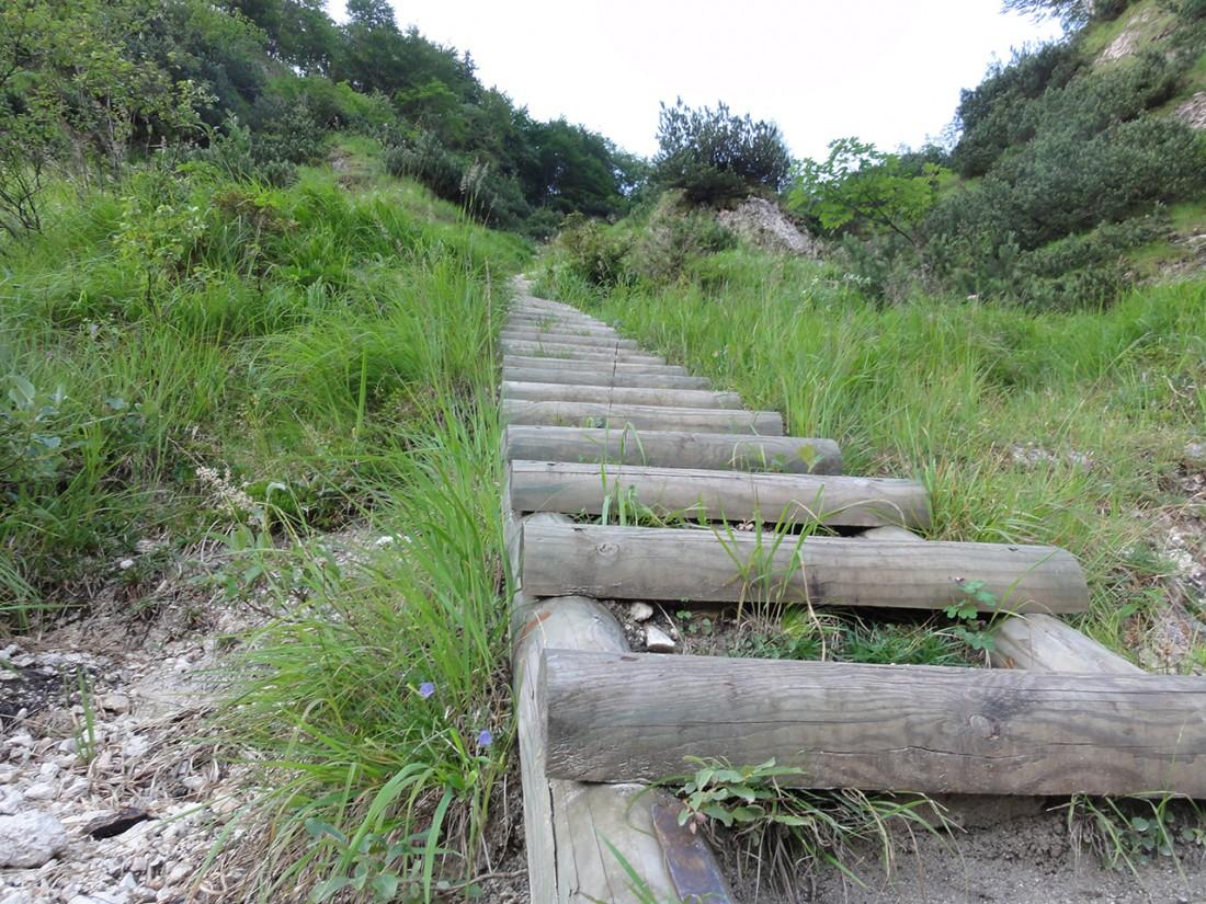 Arnoweg: Die vielen Stufen des Doppler-Steigs