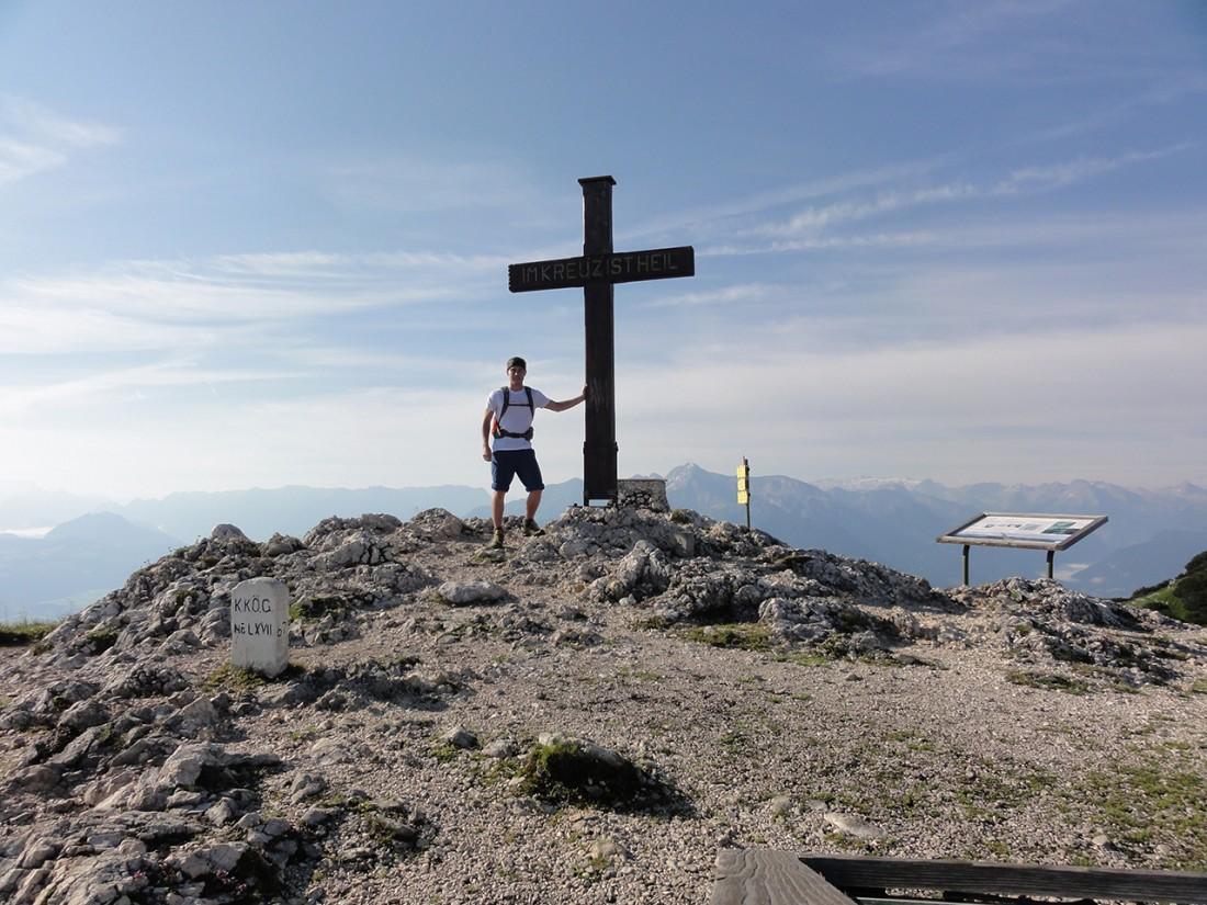 Arnoweg: Am Gipfel des Salzburger Hochthrons