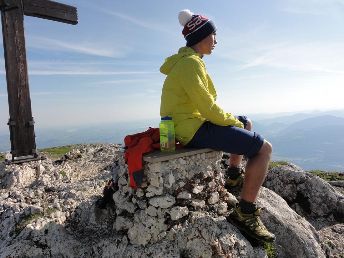 Arnoweg: Frühstück am Gipfel des Salzburger Hochthrons