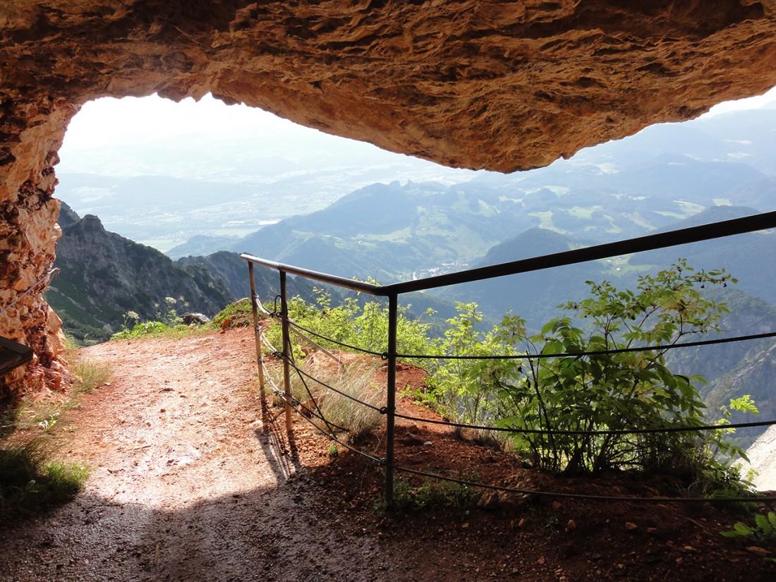 Arnoweg: Thomas-Eder-Steig durch die Untersberg-Südwand Richtung Toni-Lenz-Hütte