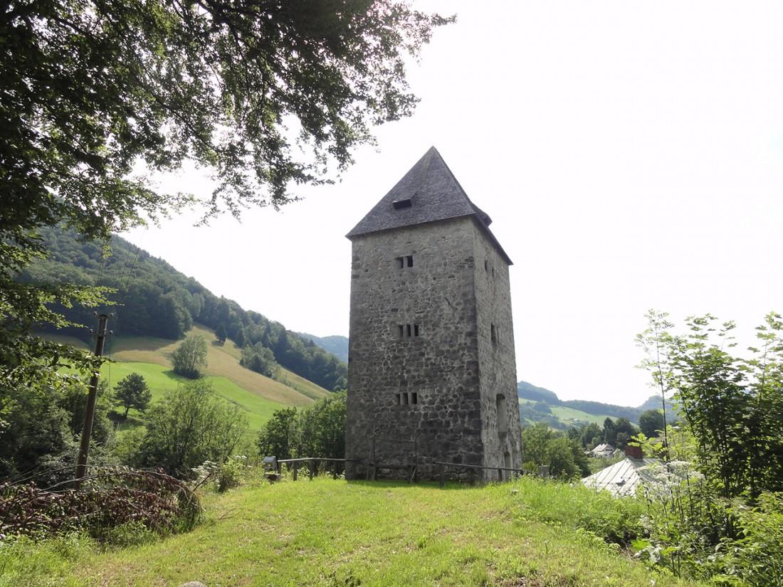 Arnoweg: Passturm bei Marktschellenberg