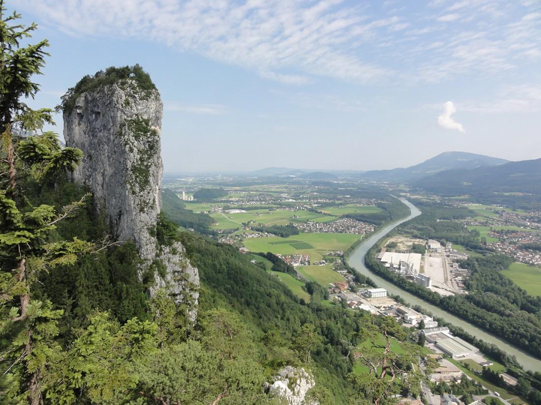 Arnoweg: Großer Barmstein bei Hallein und Salzachtal