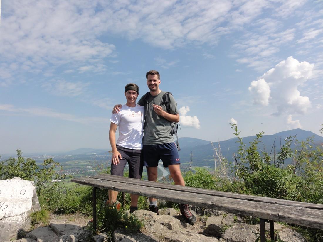Arnoweg: Am Gipfel des Kleinen Barmstein