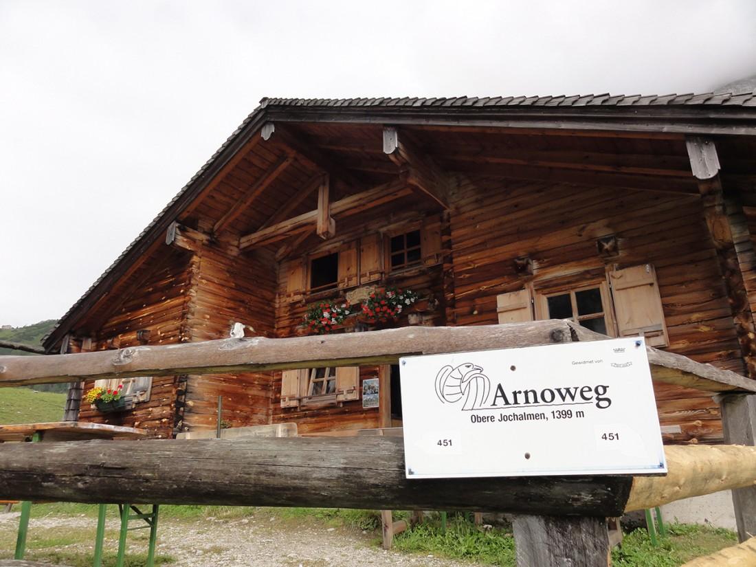 Arnoweg: Die Oberen Jochalmen