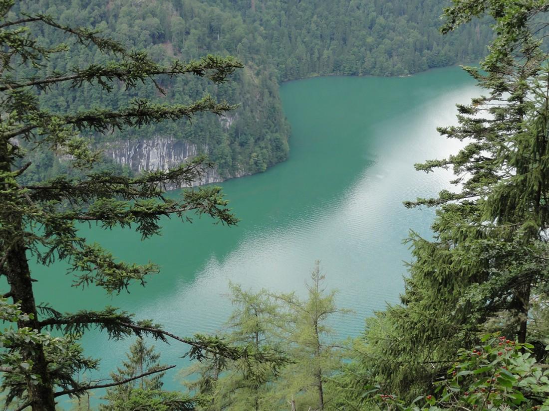 Arnoweg: Blick über den Königssee