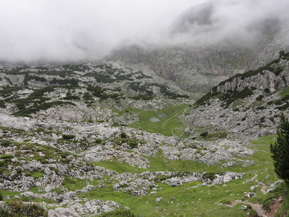 Arnoweg: Die teils trostlose Gegend am Steinernen Meer
