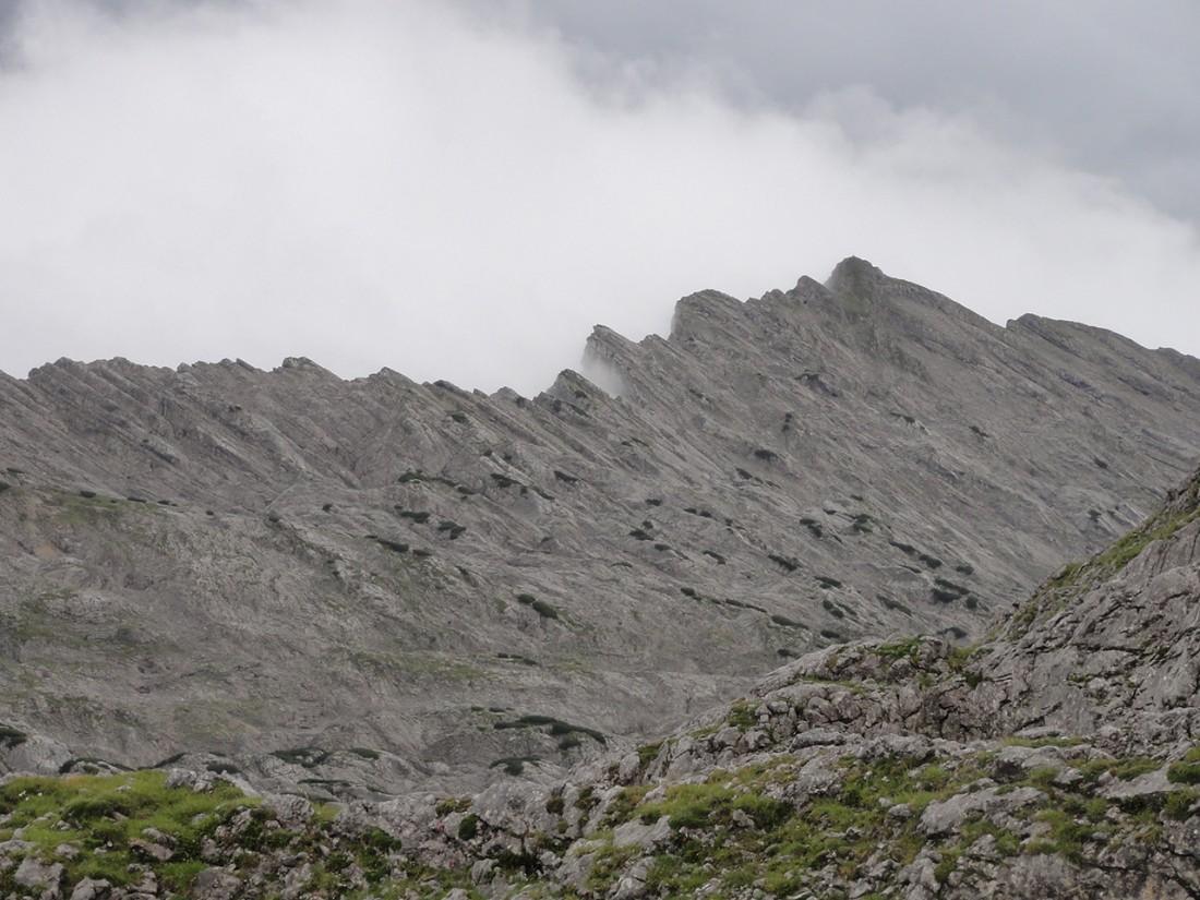 Arnoweg: Die Südwestwand das Steinernen Meeres