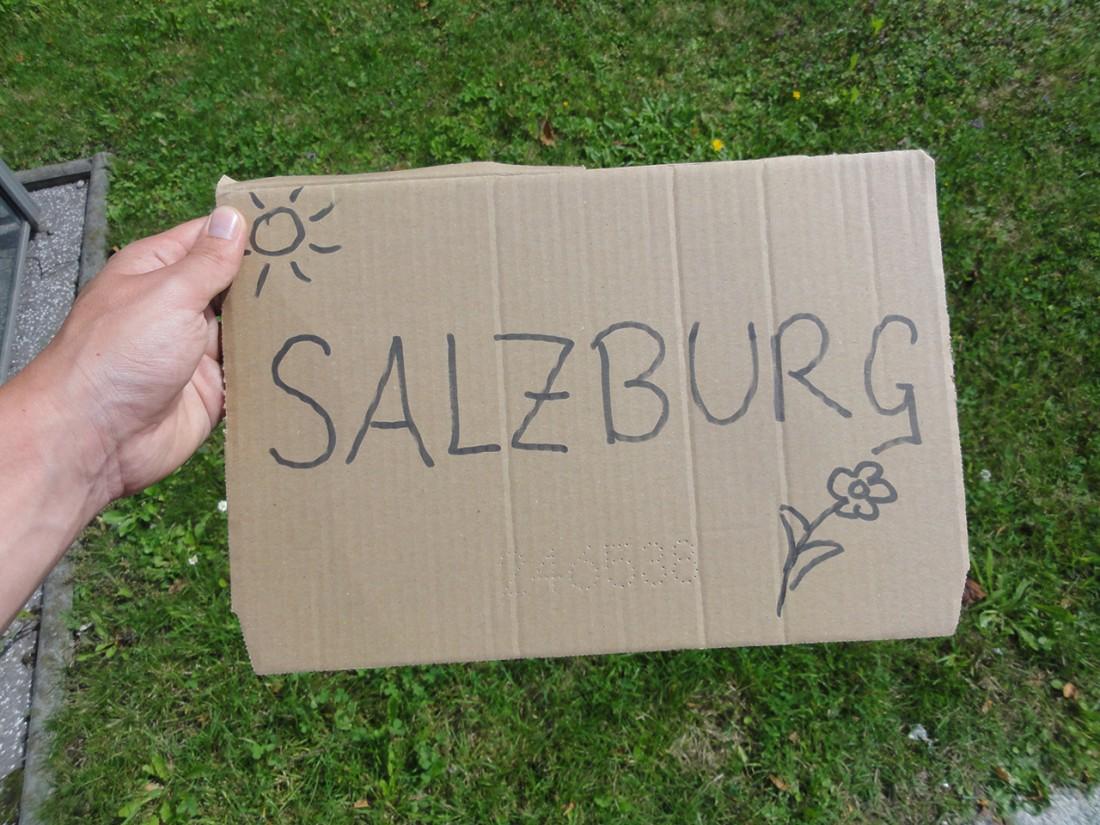 Arnoweg: Per Anhalter zurück nach Salzburg