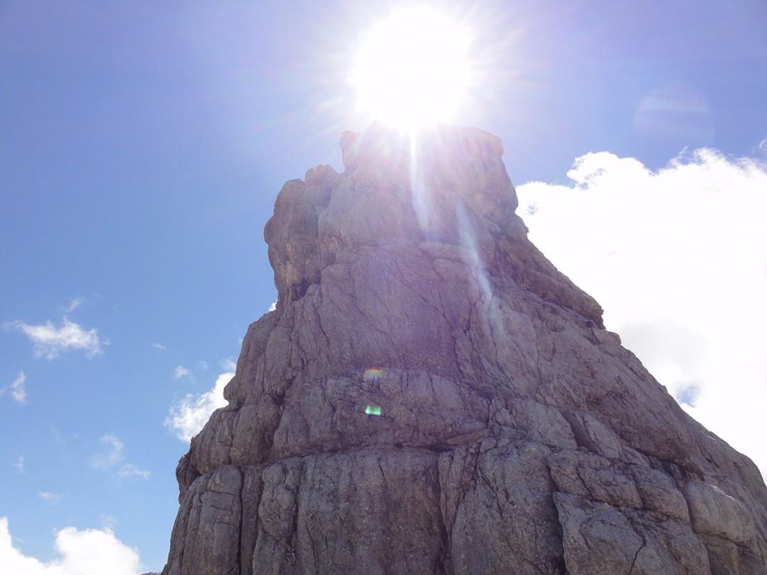 Arnoweg: Der Gipfel des Nackten Hund (2372 m)