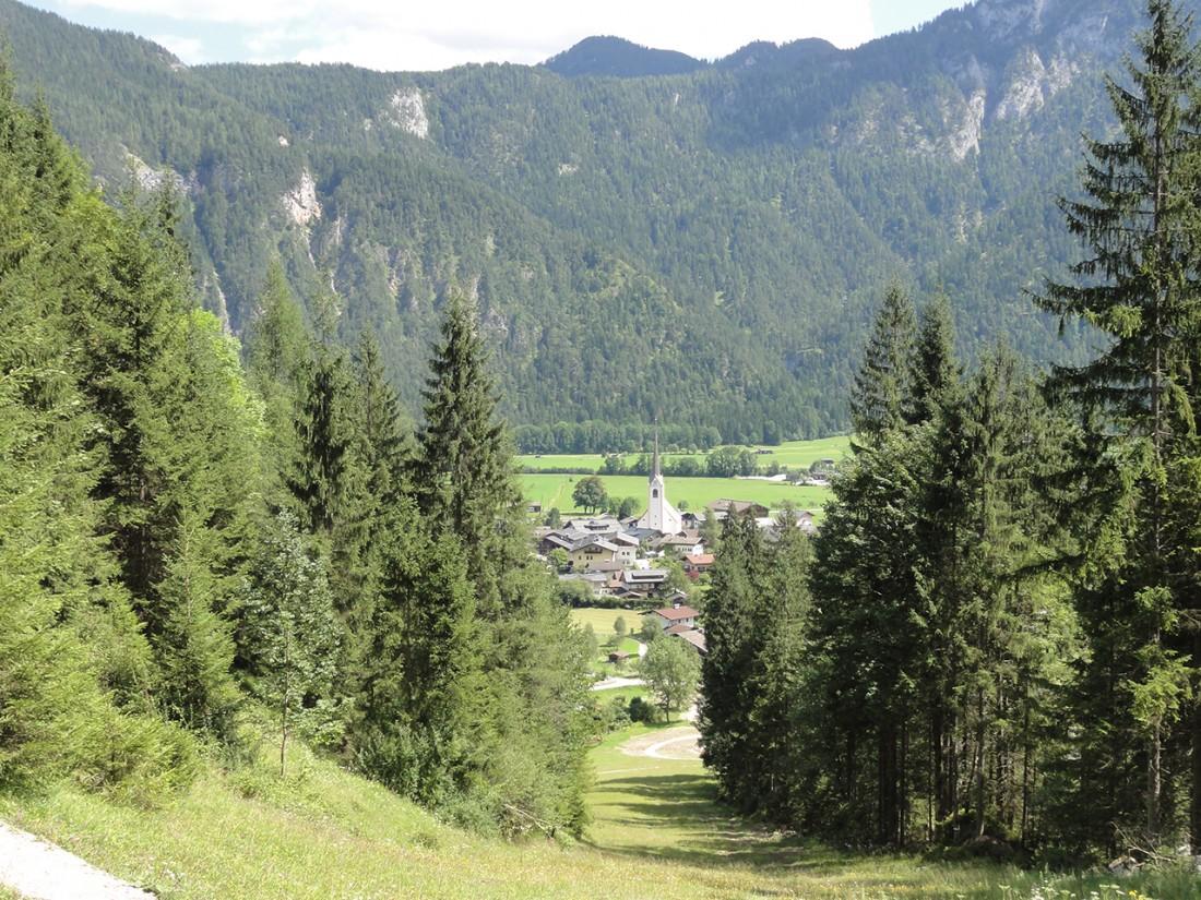 Arnoweg: Die letzten Meter nach St. Martin bei Lofer