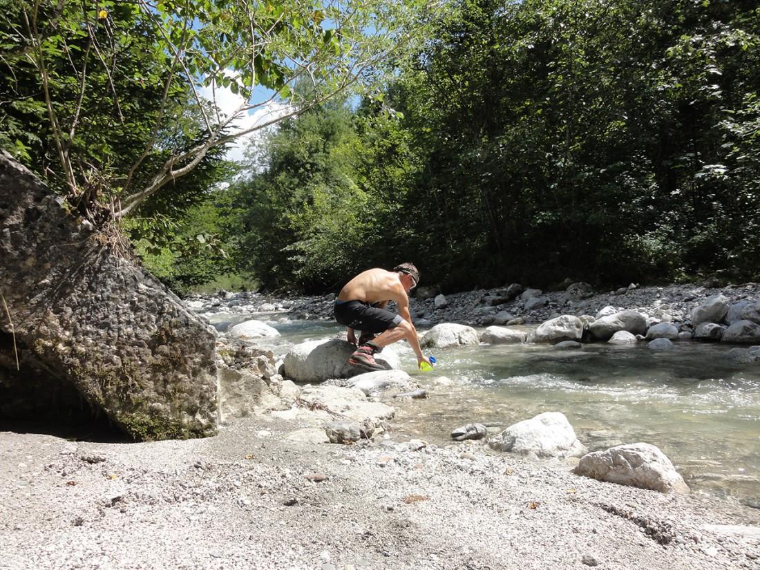 Arnoweg: An diesem heißen Tag konnte man nicht genug Wasser dabei haben