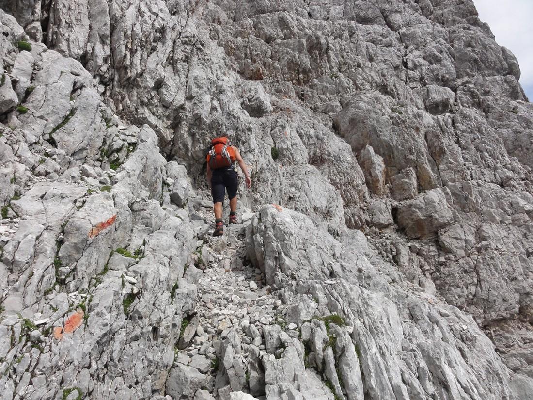 Arnoweg: Felsiger Aufsteig auf das Birnhorn (2634 m)