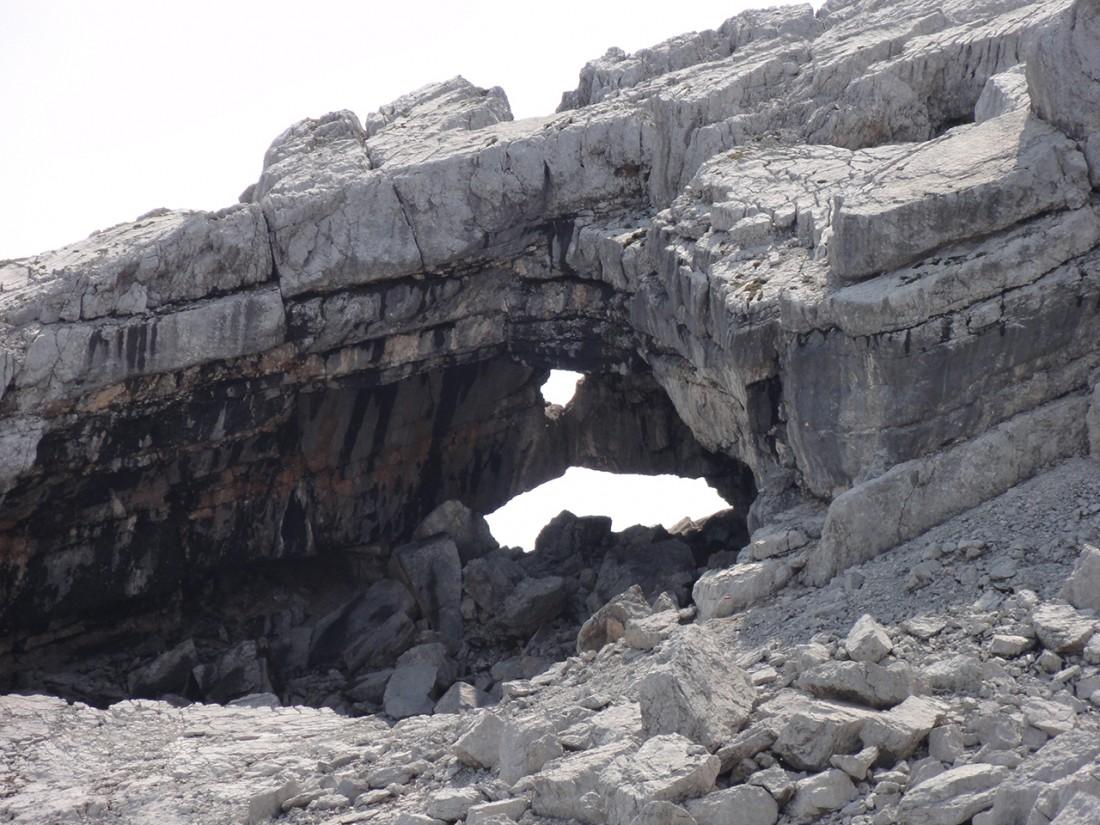 Arnoweg: Das Melkerloch in den Leoganger Steinbergen