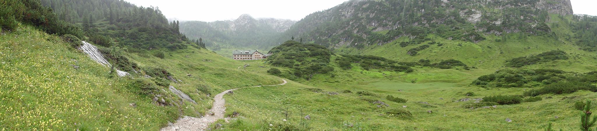 Arnoweg: Das Kärlinger Haus am Funtensee im Steinernen Meer