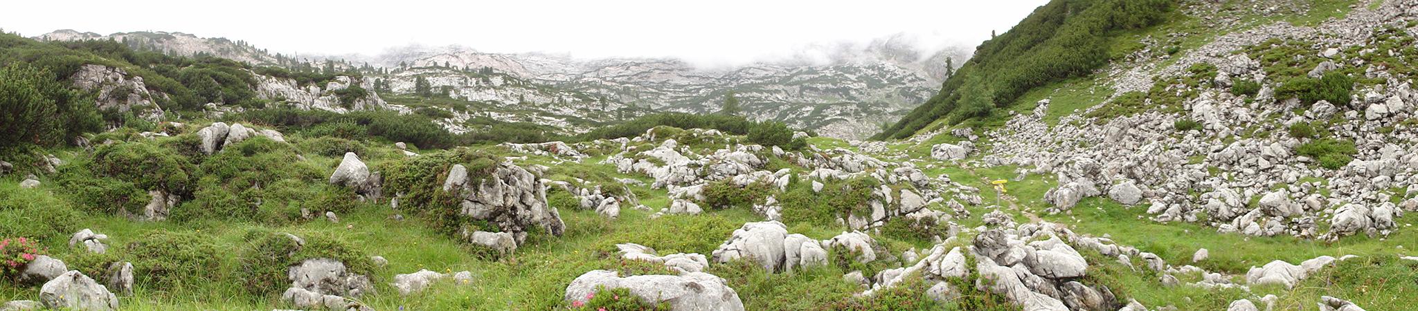 Arnoweg: Die trostlose und doch beeindruckende Landschaft am Steinernen Meer