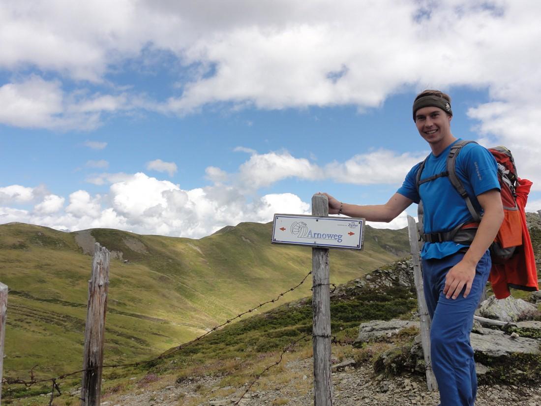 Arnoweg: Entlang des Pinzgauer Spaziergangs ist der Arnoweg gut markiert.