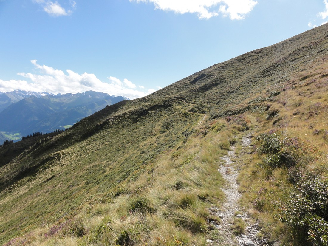 Arnoweg: Obwohl der Pinzgauer Spaziergang kein Geheimnis ist, sind die Wege nicht breit ausgetreten.
