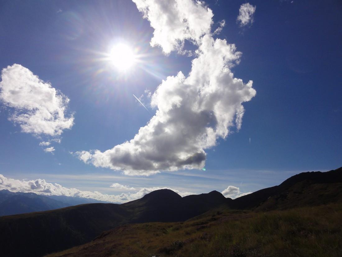 Arnoweg: Die 15. Etappe zeichnete sich auch durch herrliches Bergwetter aus.