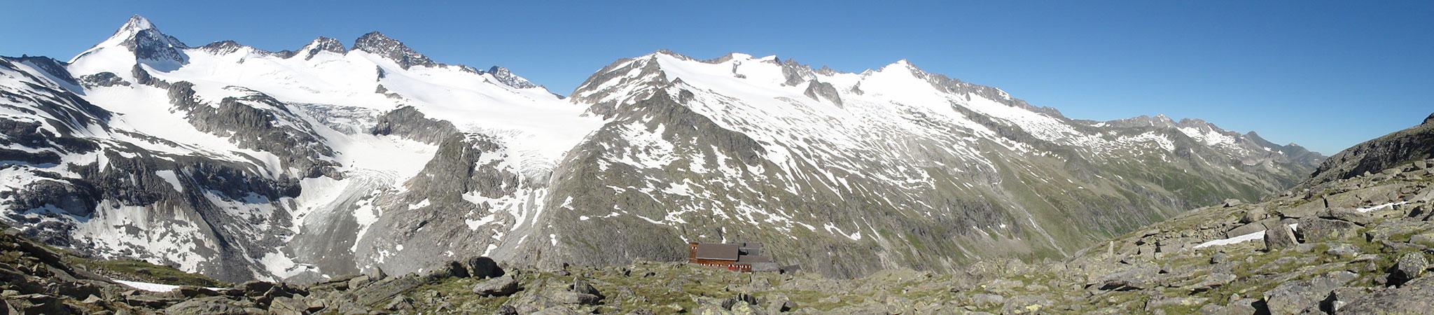 Arnoweg: Die Kürsinger Hütte ist der perfekte Ausgangspunkt für viele Hochtouren in der Großvenedigergruppe.