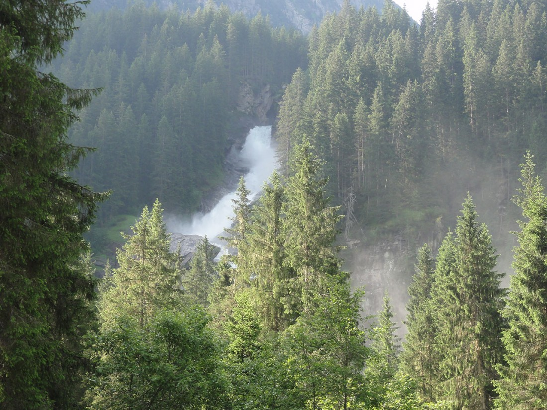 Arnoweg: Die imposanten Krimmler Wasserfälle