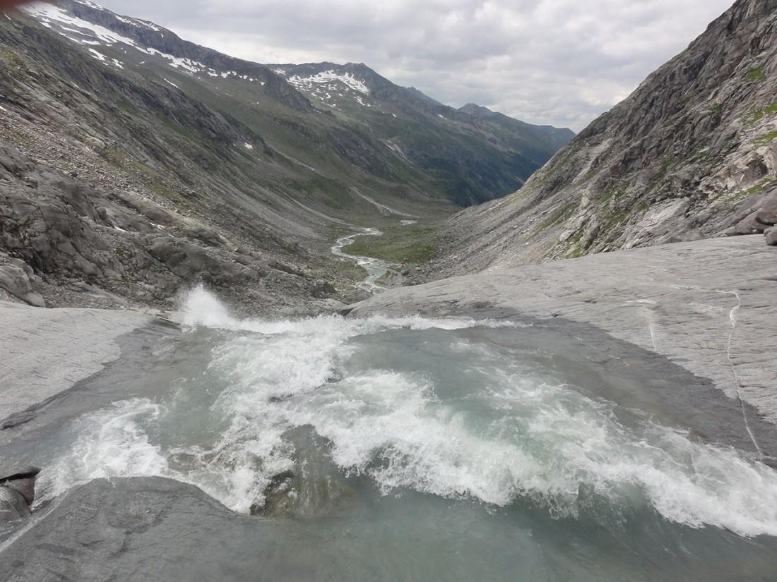 Arnoweg: Blick Richtung Norden ins Obersulzbachtal