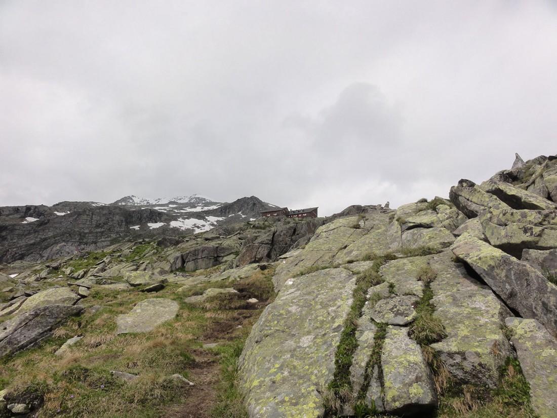 Arnoweg: Die Kürsinger Hütte: Ziel eines schönen und anstrengenden Tages