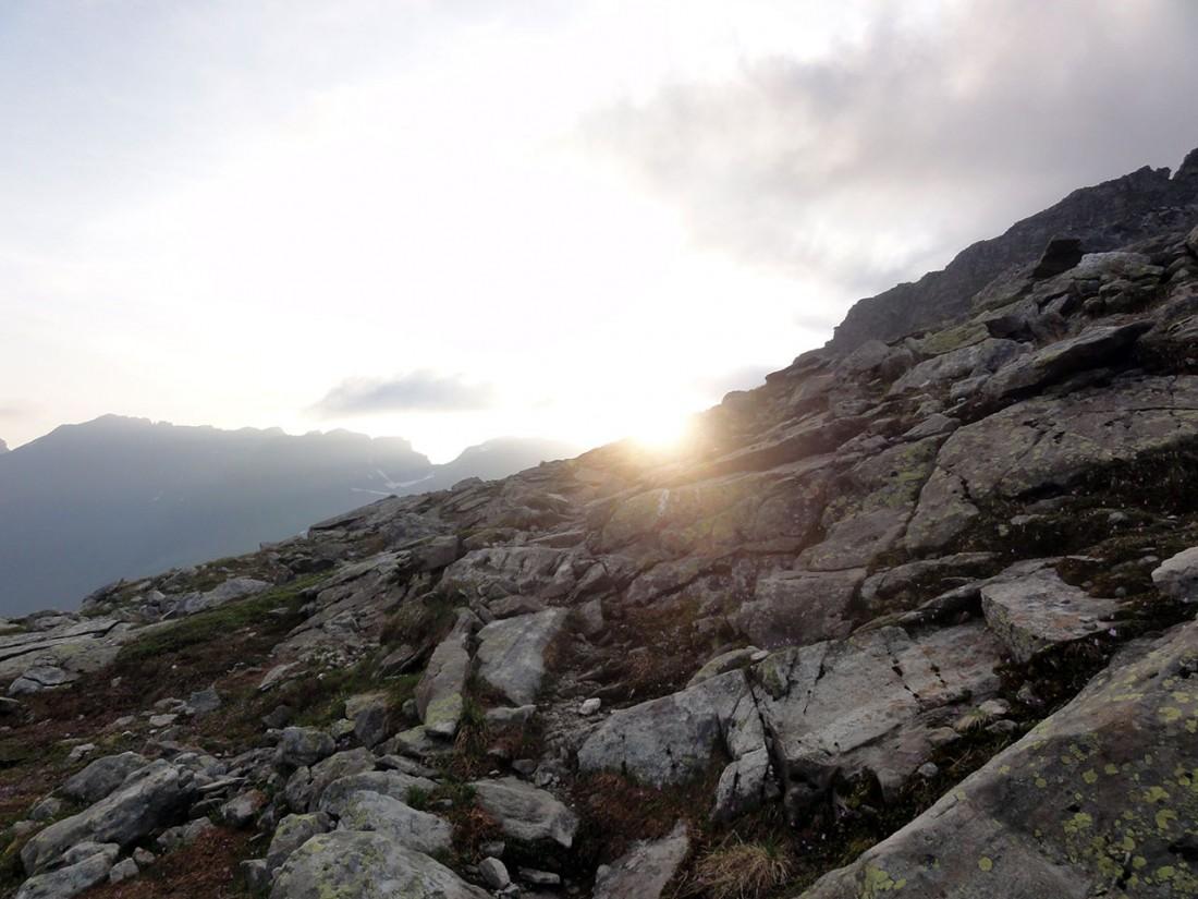 Arnoweg: Die ersten wärmenden Sonnenstrahlen