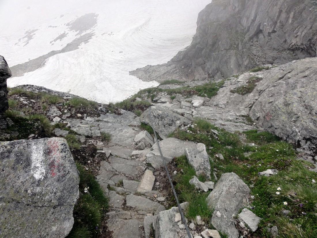 Arnoweg: Kurze Ferrata zwischen Sonnblickkees und Weißseekees
