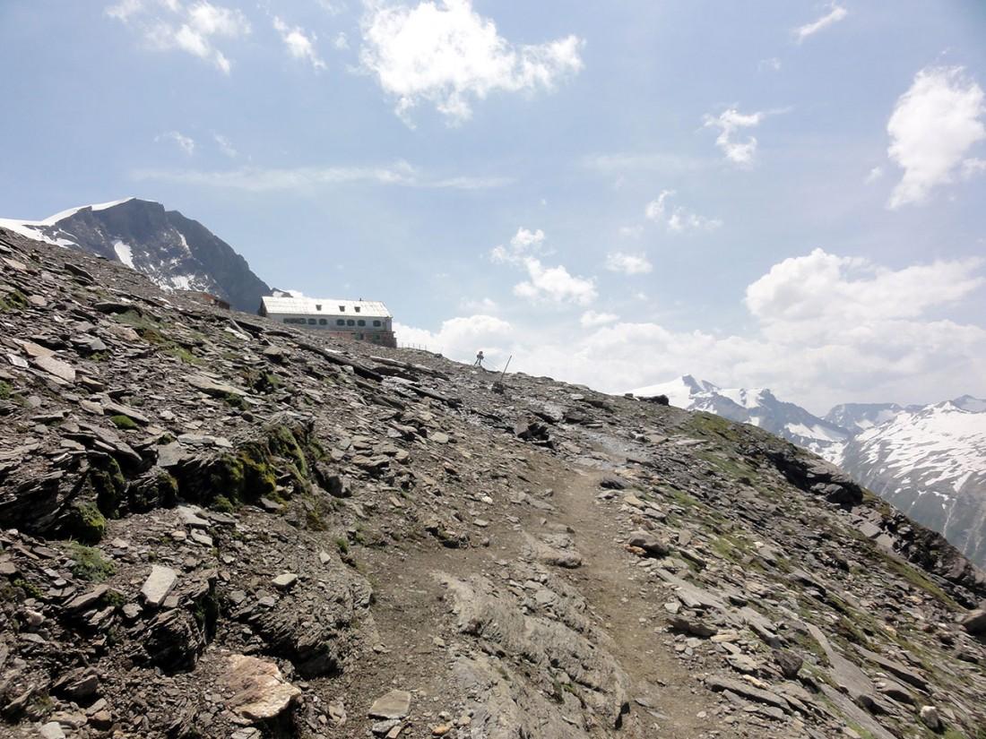 Arnoweg: Das Heinrich-Schwaiger-Haus (2802 m)