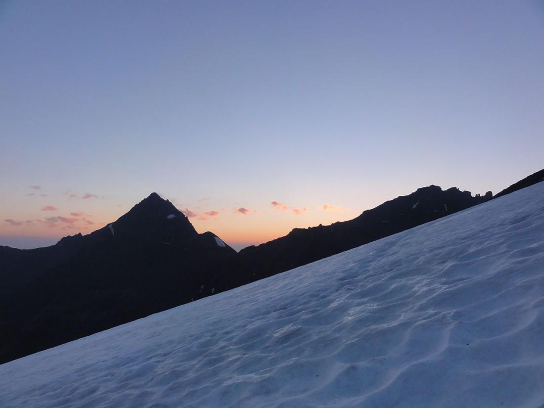 Arnoweg: Der Hohe Tenn (3368 m) im Norden