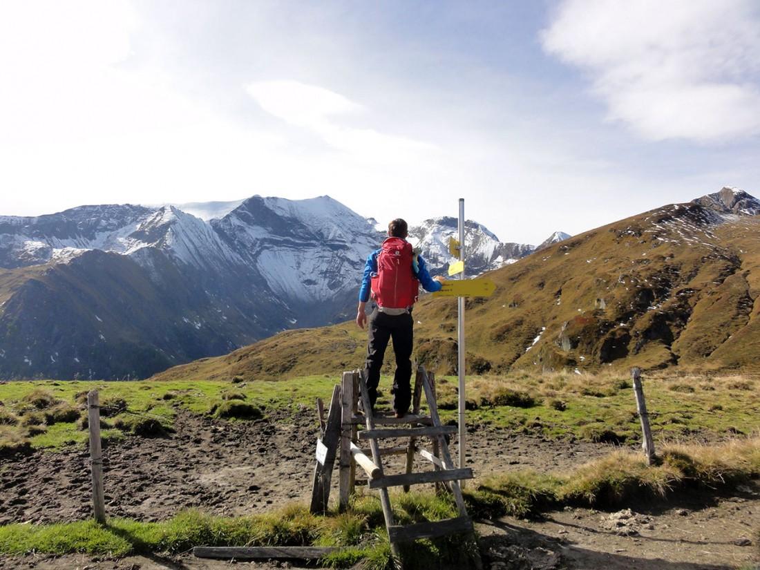 Arnoweg: Fest im Blick: der Hohe Tenn (3368 m)