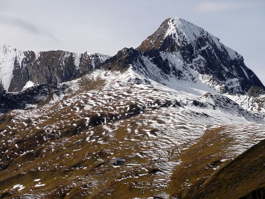 Arnoweg: Die Gleiwitzer Hütte liegt auf auf 2174 m.