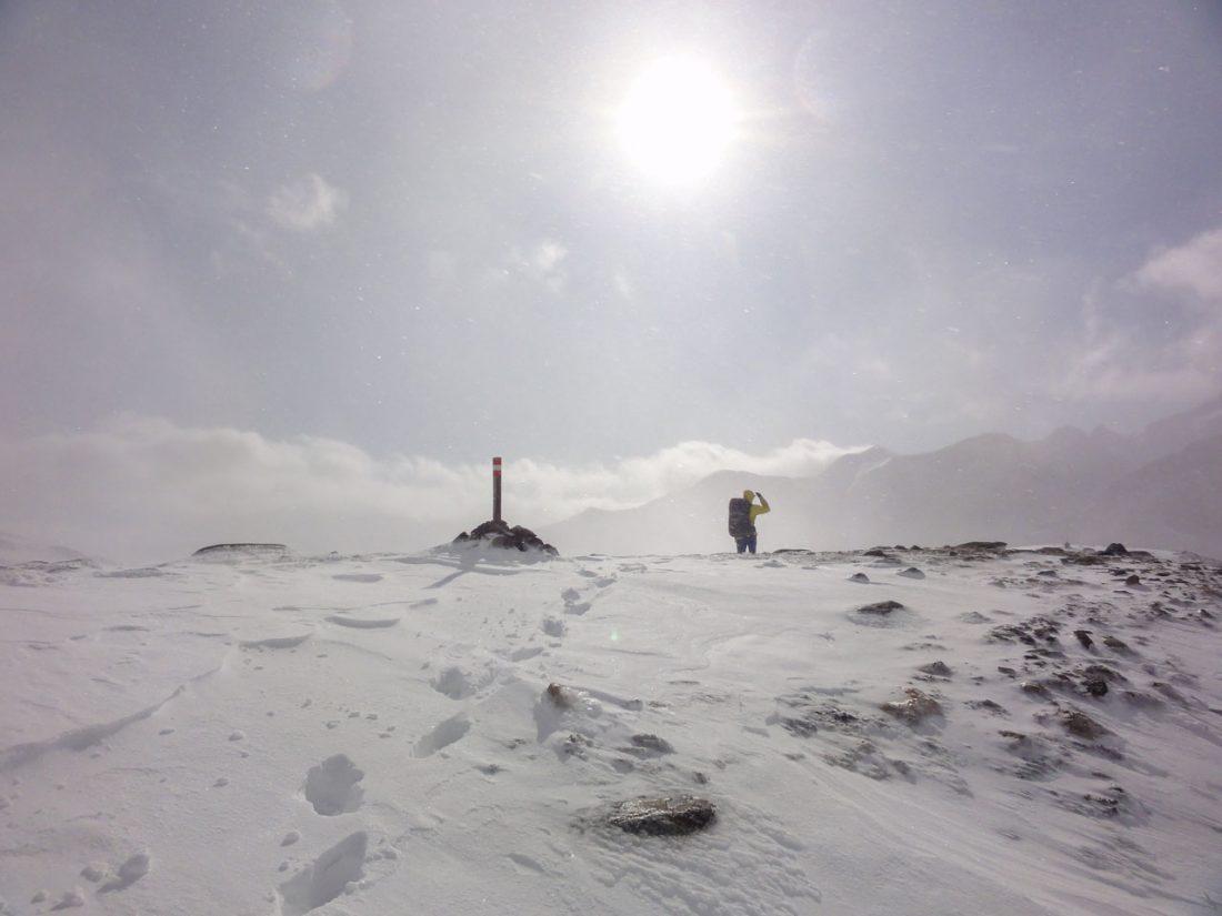 Arnoweg: Auf der Kärntner Seite wird das Wetter zunehmend besser