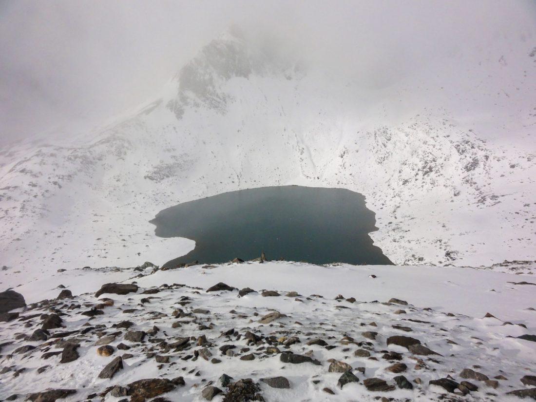 Arnoweg: See unter der Pfandlscharte