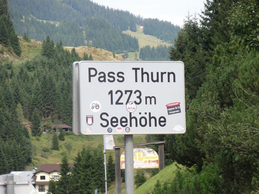 Arnoweg: Der Pass Thurn ist das Etappenziel der 16. Etappe des Arnoweg.