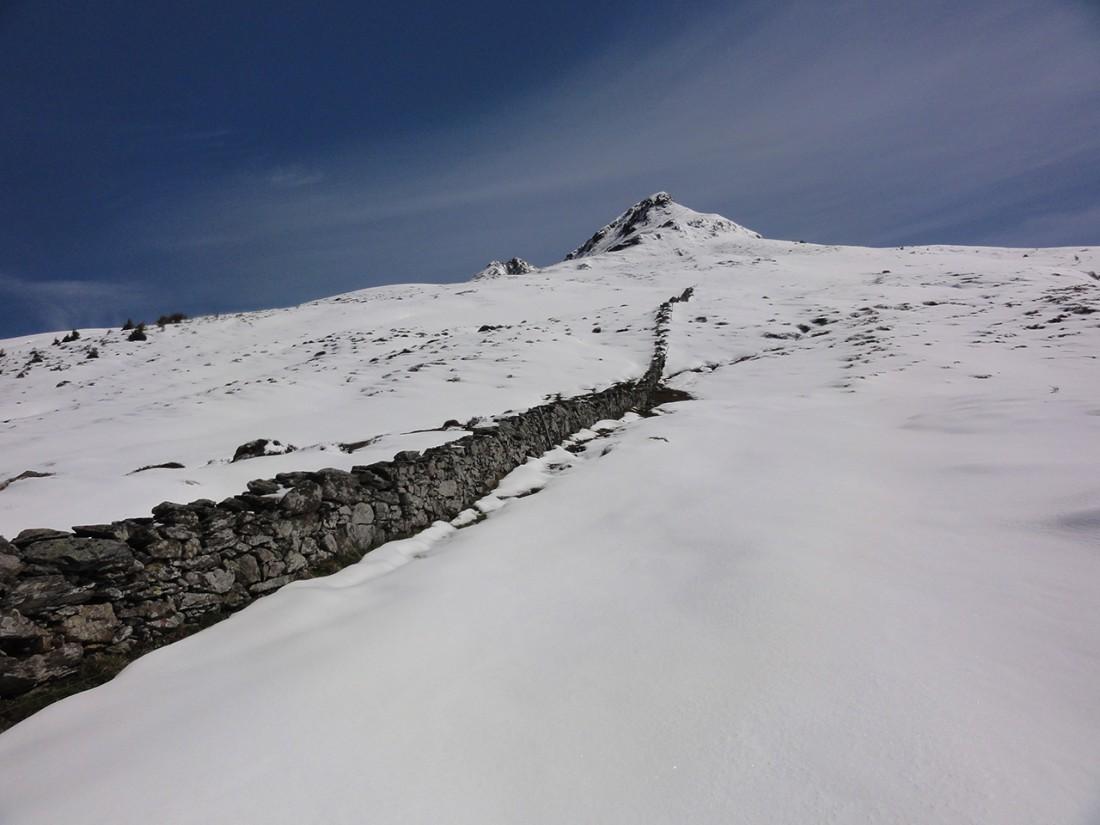 Arnoweg: Blick zurück Richtung Rossgruber Kogel