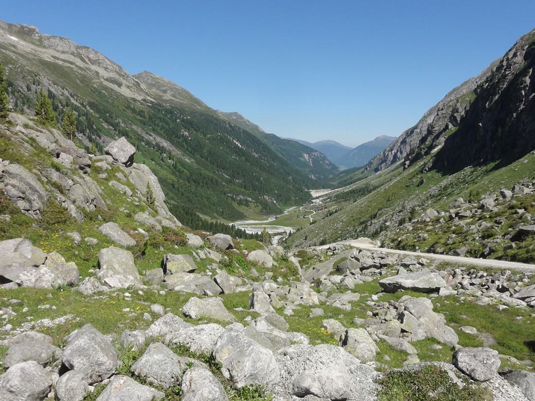 Arnoweg: Der Talboden des Obersulzbachtals