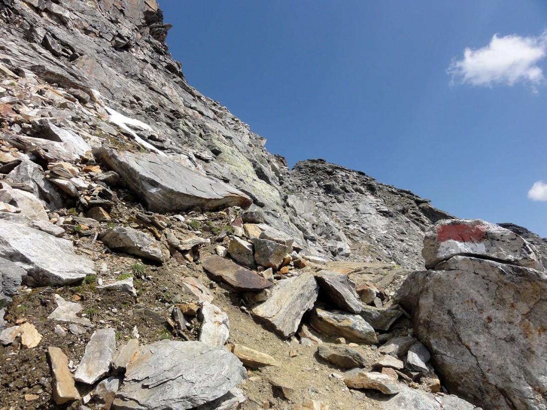 Arnoweg: Die letzten Meter zur Larmkogelscharte