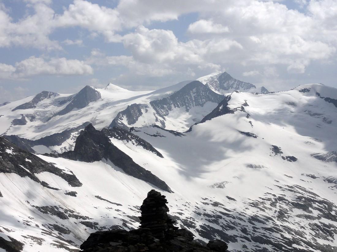 Arnoweg: Noch ein letzter Blick vor dem Abstieg Richtung Westen zum Großvenediger