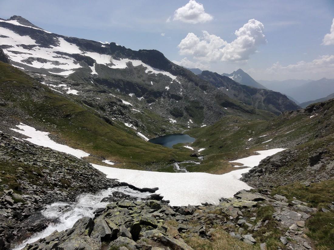 Arnoweg: Der Schwarzsee von oben