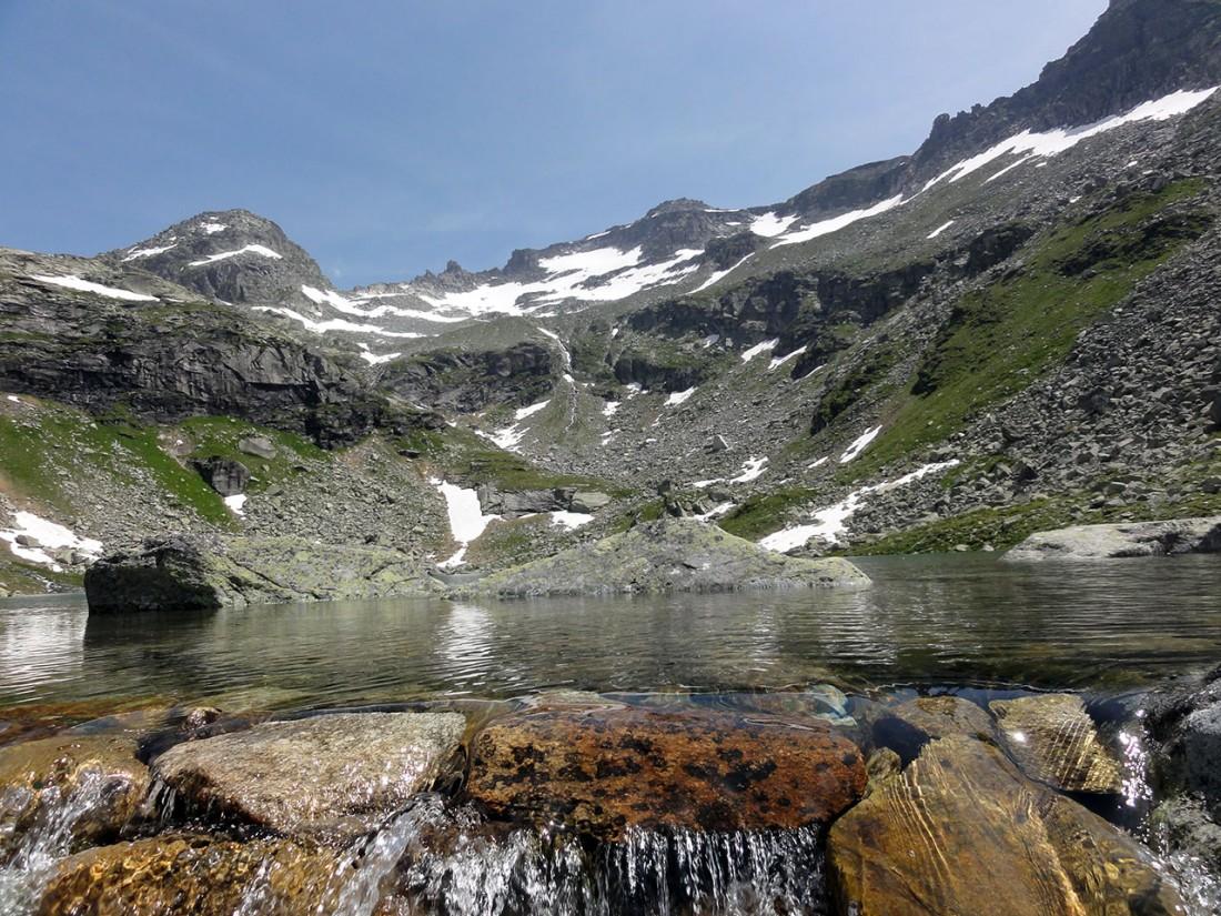 Arnoweg: Der Grünsee überzeugt durch seine wunderschöne Wasserfarbe.