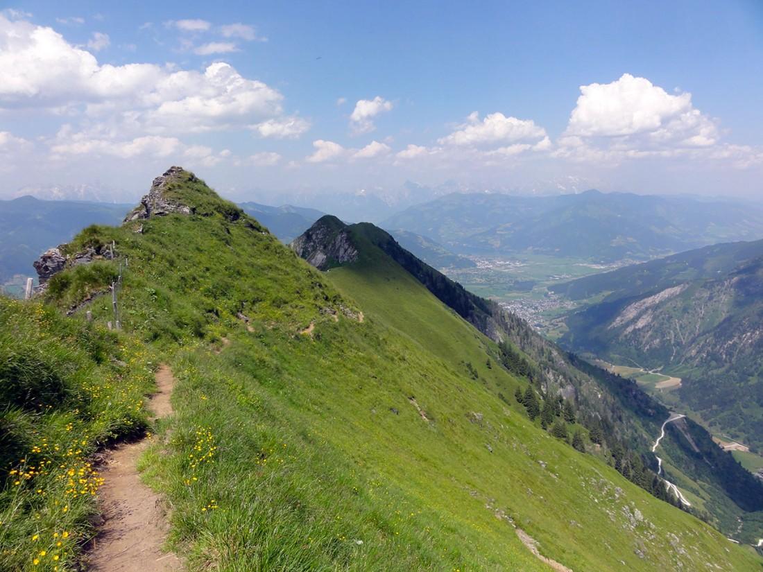 Arnoweg: Der Alexander-Enzinger-Höhenweg führt auf den Maiskogel bei Kaprun.