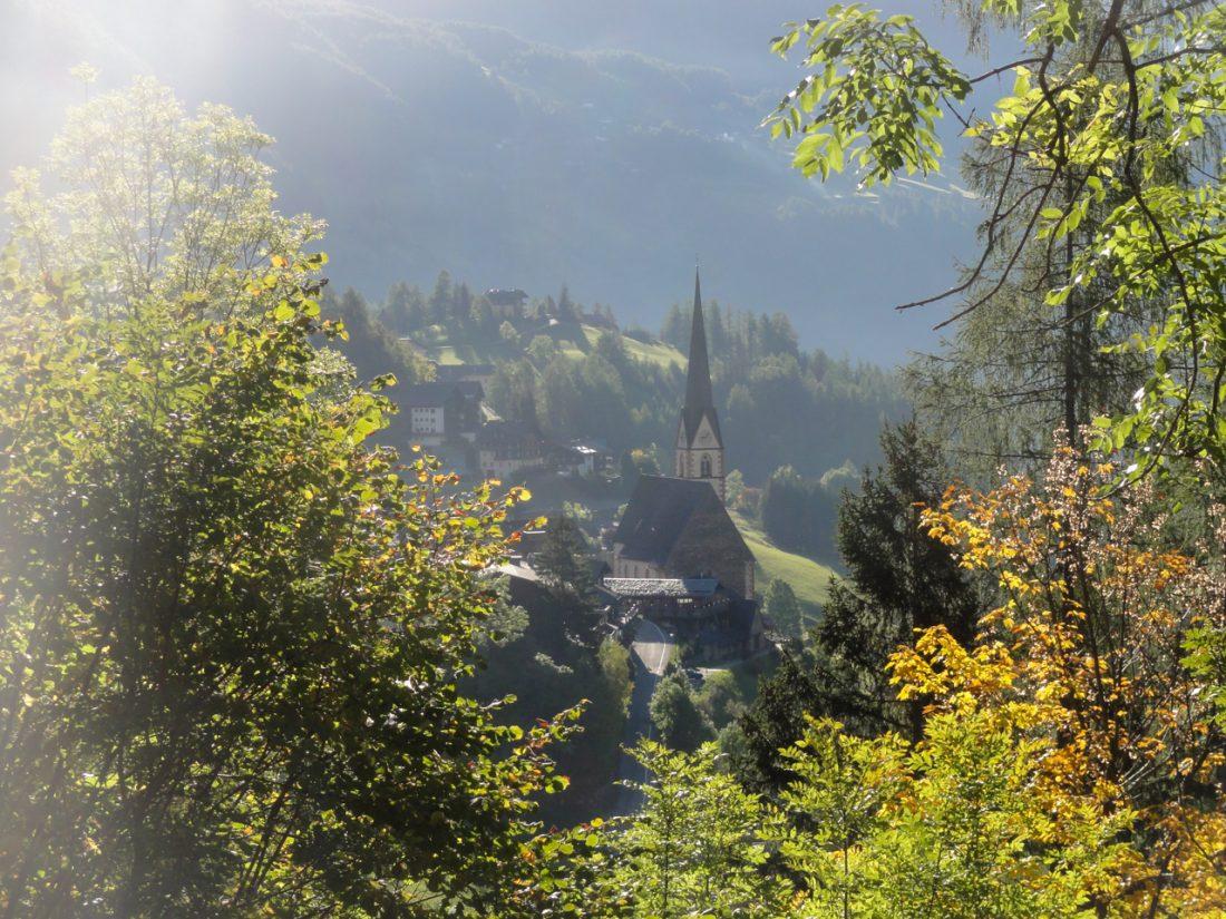 Arnoweg: Die Kirche von Heiligenblut
