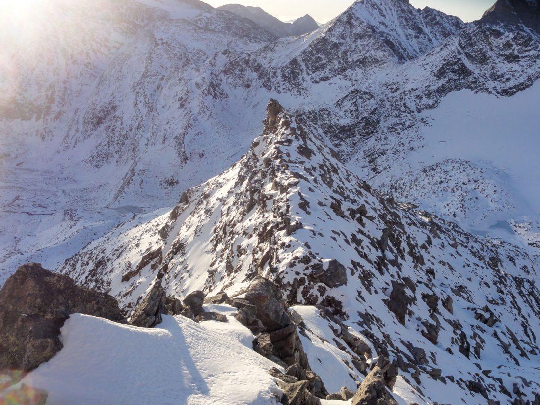 Arnoweg: Der Ostgrad des Hohen Sonnblick erfordert einiges an alpinem Können und absoluter Schwindelfreiheit.